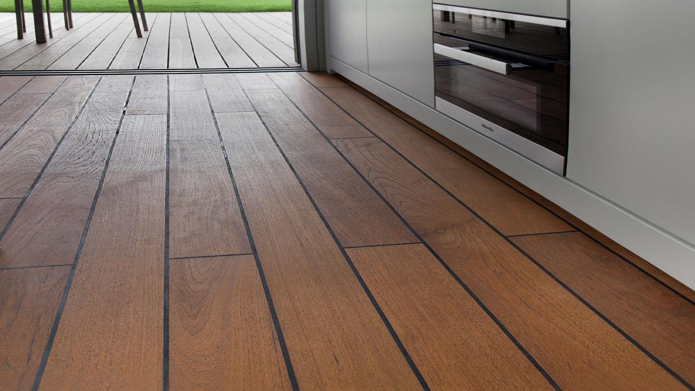 Teak Holz Im Bad Premiumfloor Holzboden Parkett