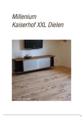 Details – Millenium Kaiserhof XXL Dielen
