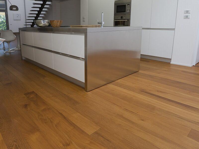 Holzboden Küche