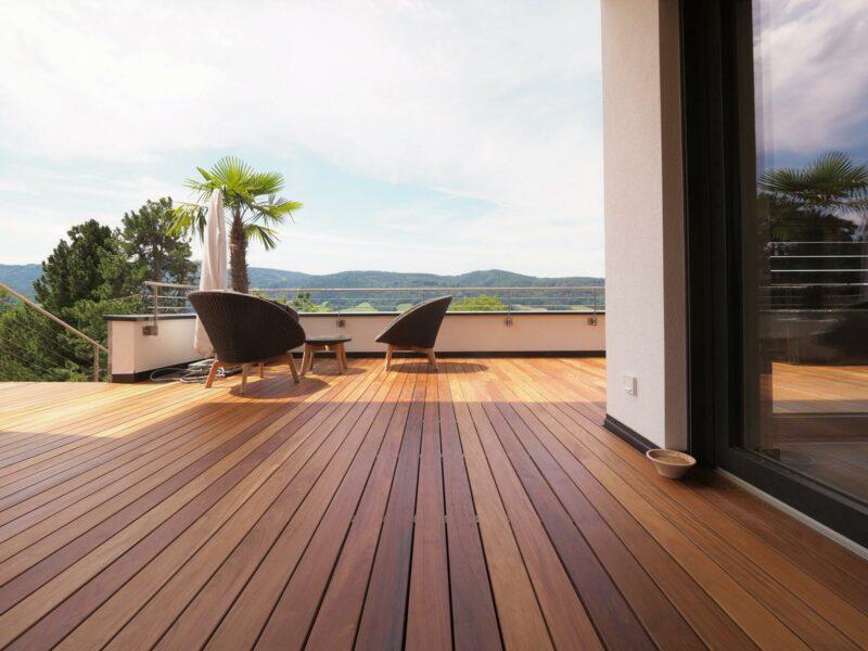 Terrassendiele Holz